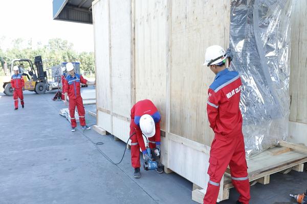 Đóng thùng gỗ chất lượng cao cho hàng hóa tại Hà Nội