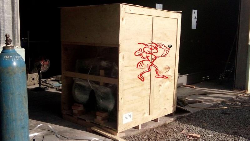 Đóng thùng gỗ tại KCN Tràng Duệ