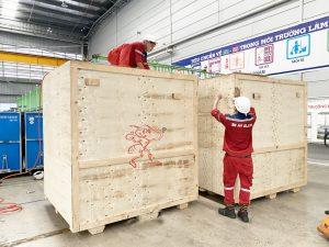 Dịch vụ đóng thùng gỗ thiết bị tại Bình Dương