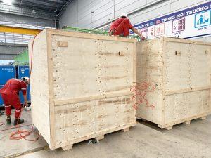 Dịch vụ đóng thùng gỗ máy móc tại Bình Dương
