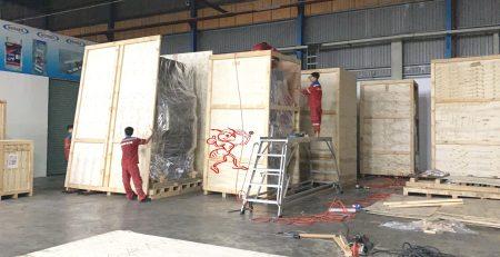 Dịch vụ đóng thùng gỗ tại Bình Dương